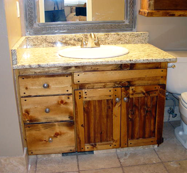 Remodeling Knotty Pine: Custom Wood Work
